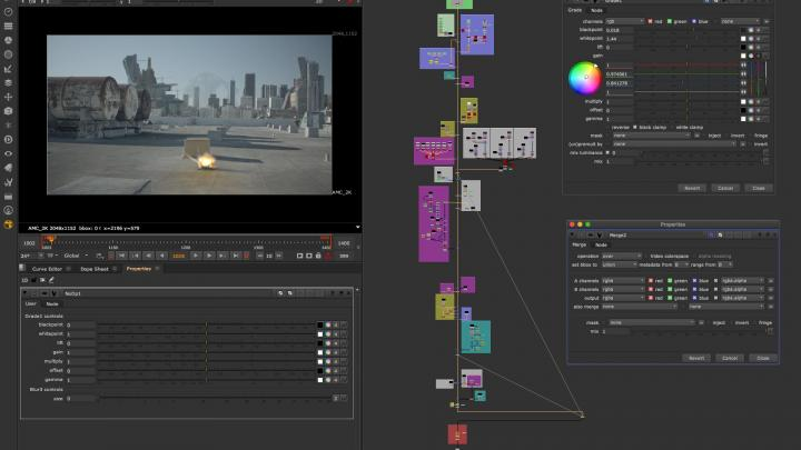 UI Interactivity Nuke 12.0