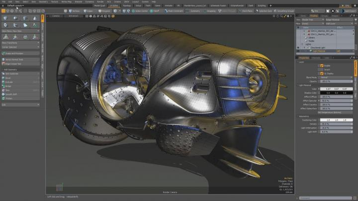 Refinements of UV tools and Workflows in Modo 12.0