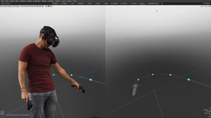 Integrated Virtual Reality Viewport
