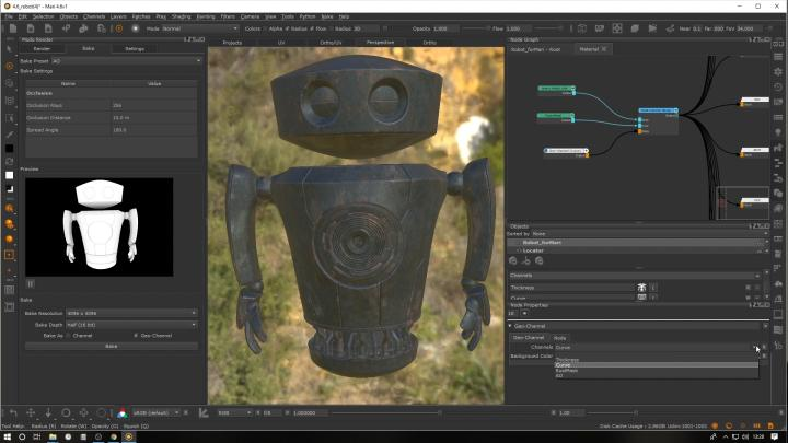 Mari Update 3d Texture Painting Foundry