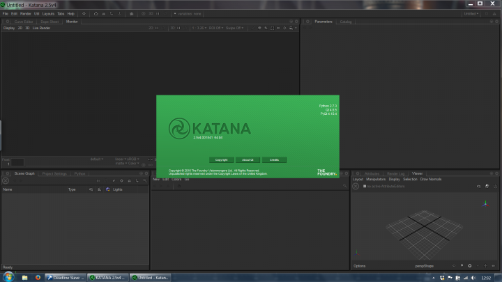 Katana 2.5 is easier to install