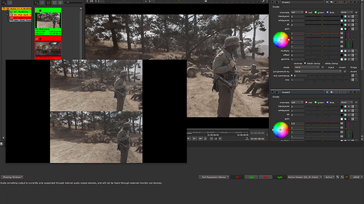 Multiview stereo support in Nuke 11.3