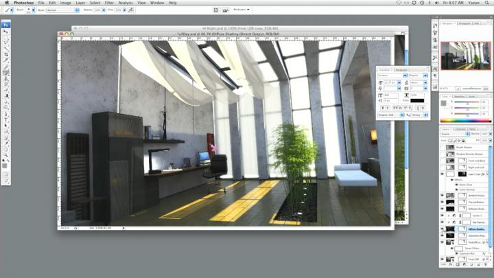 Architectural Interior Lighting Tutorial for Modo