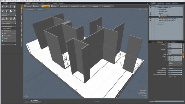 Learn how to use Modo for 3d architectural modeling with this free online tutorial series