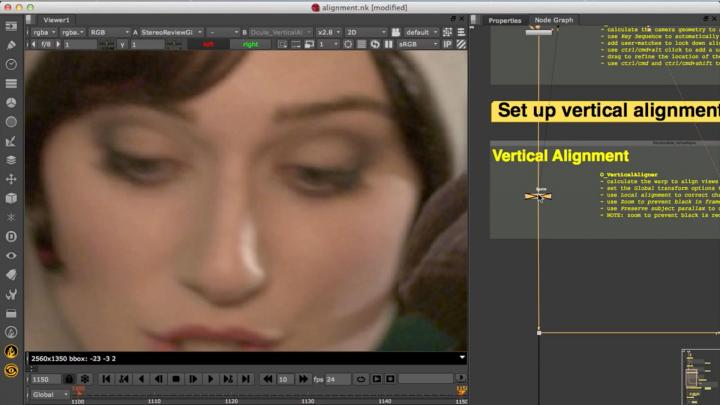 Ocula 4 online free tutorial series for stereoscopic post-production VFX