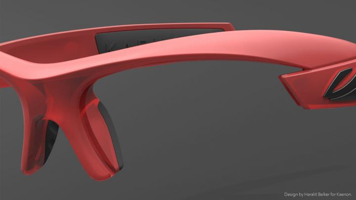 Kaenon sunglasses design with Modo