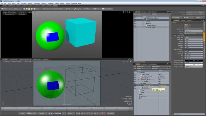 An online video walkthrough of using Modo and 3ds Max