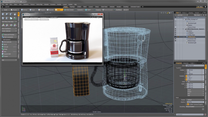 Learn how to use Modo quickly and free with this online tutorial series from Foundry