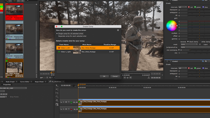 Multivideo Cover in Nuke 11.3