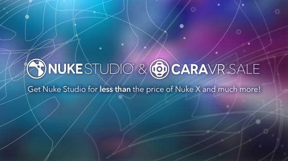 Cara VR and Nuke Studio discount promotion