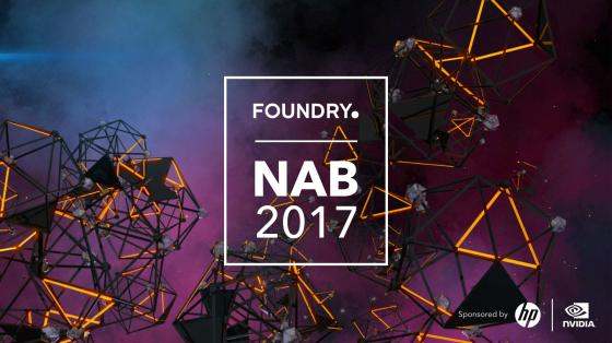 Find out what Foundry is up to at NAB 2017
