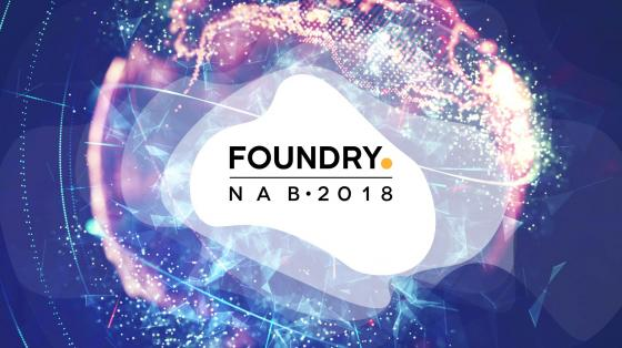 NAB 2018 Foundry Banner
