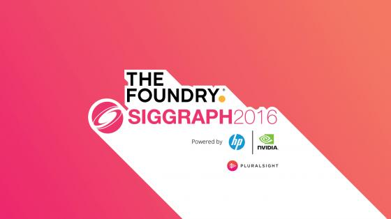 Live at SIGGRAPH 2016 Foundry