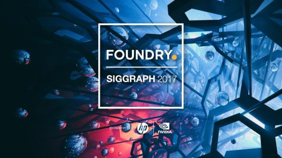 Foundry at SIGGRAPH 2017 in LA