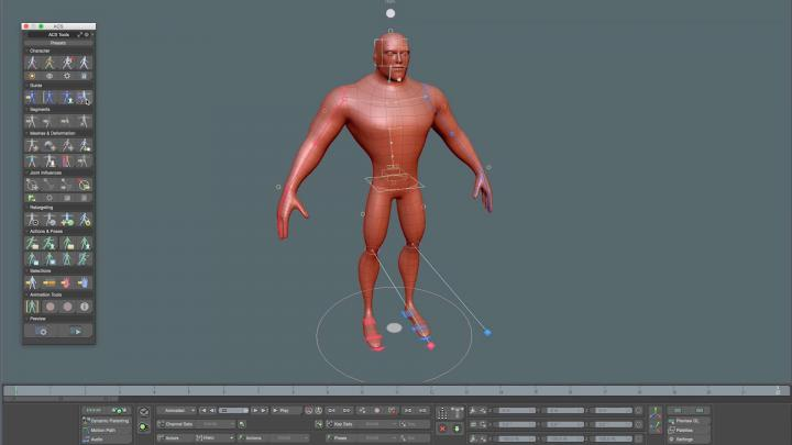 Automatic Character Setup 2 for Modo