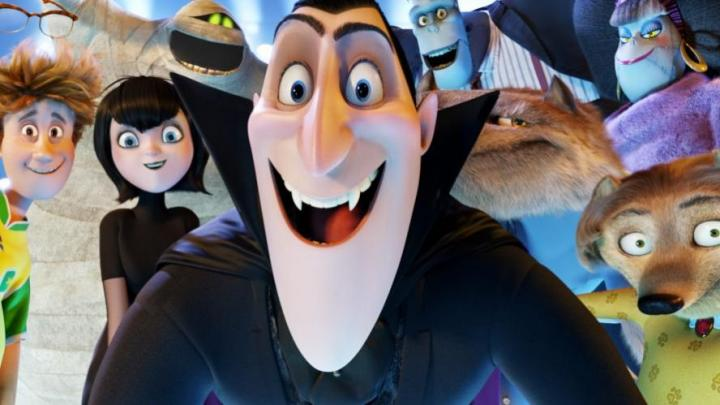 Still from Dreamworks Hotel Transylvania who used Flix