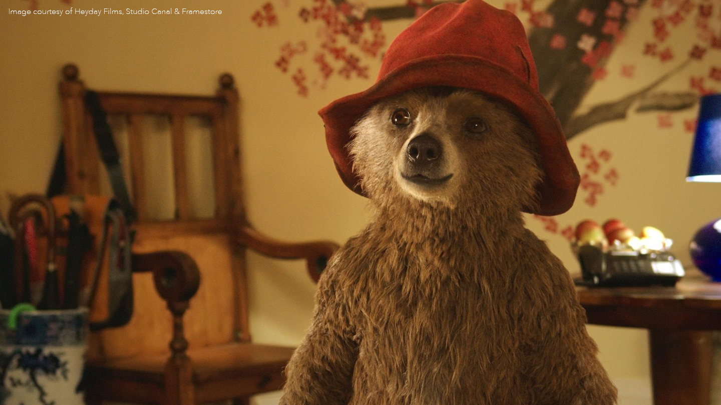 Paddington bear - behind the software that brought him to life