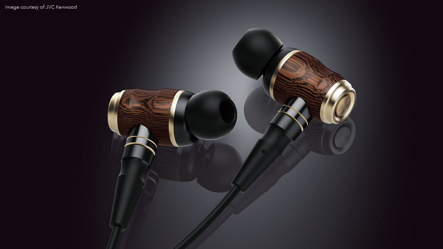 3d modelled earphones with Modo