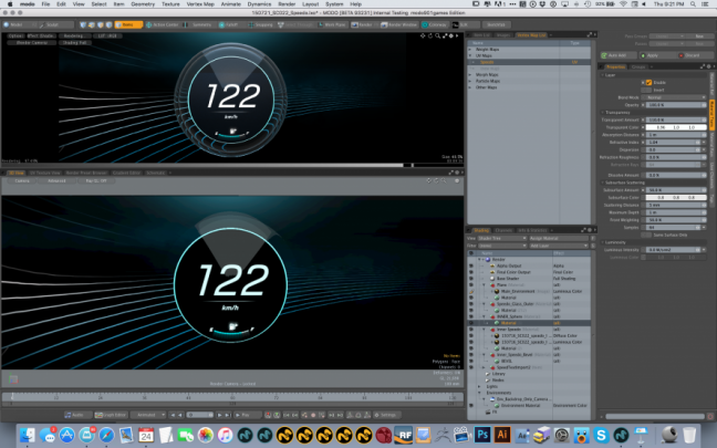 In car UI visualisation with Mercedes and Foundry