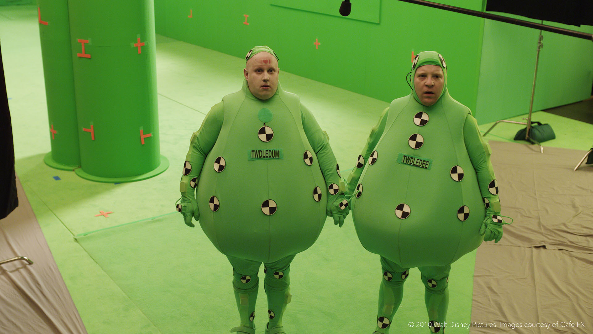 How Matt Lucas became Tweedle Dum and Tweedle Dee from Alice in Wonderland