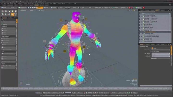 Advanced character rigging training tutorial series