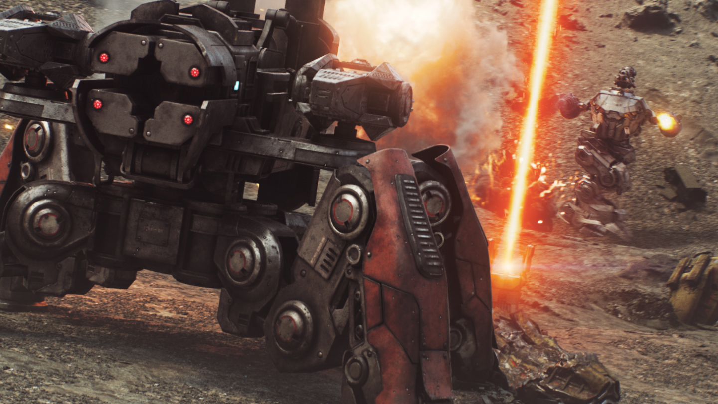 War Robots, CGI and visual effects fighting robots