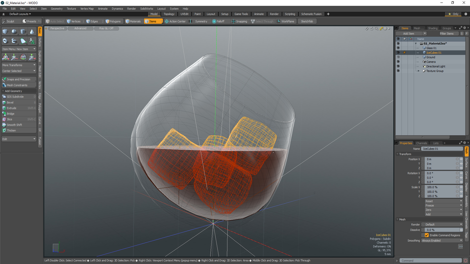 Modo 3d modeling tools and rendering tutorial videos