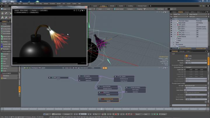 Learn Modo animation and particle system in this online training series