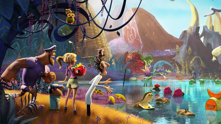 Cloudy with a Chance of Meatballs 2 from Sony Imageworks using Flix