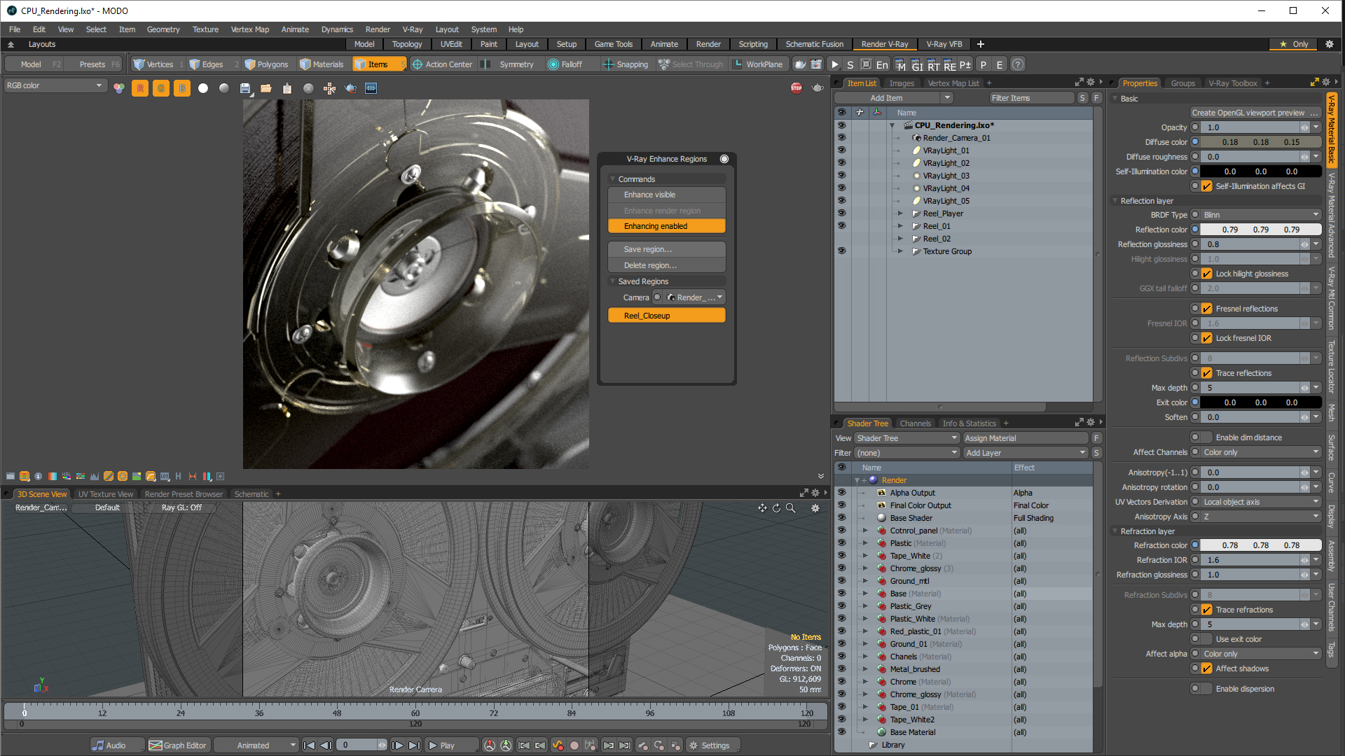 Popular V-Ray is now integrated with Modo