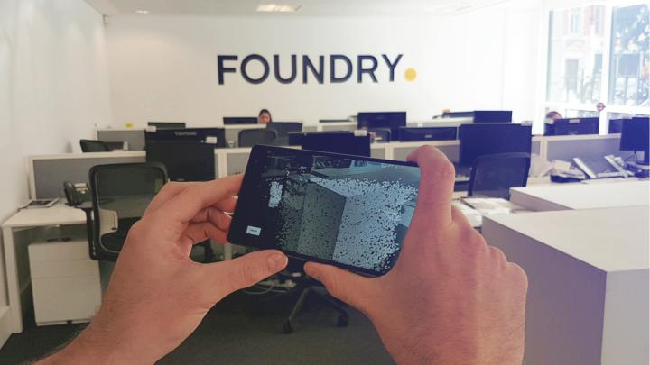 FAME AR experience from Foundry