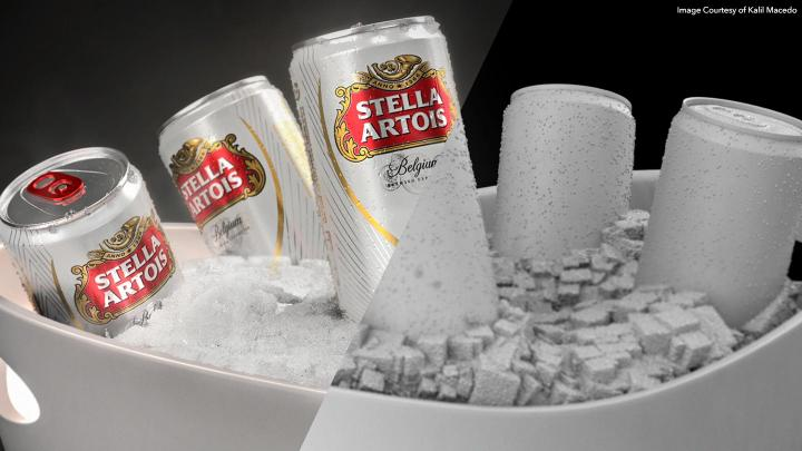 Stella commerical with modo